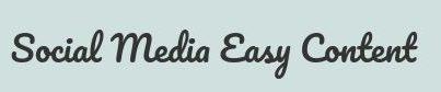 Social Media Easy Content