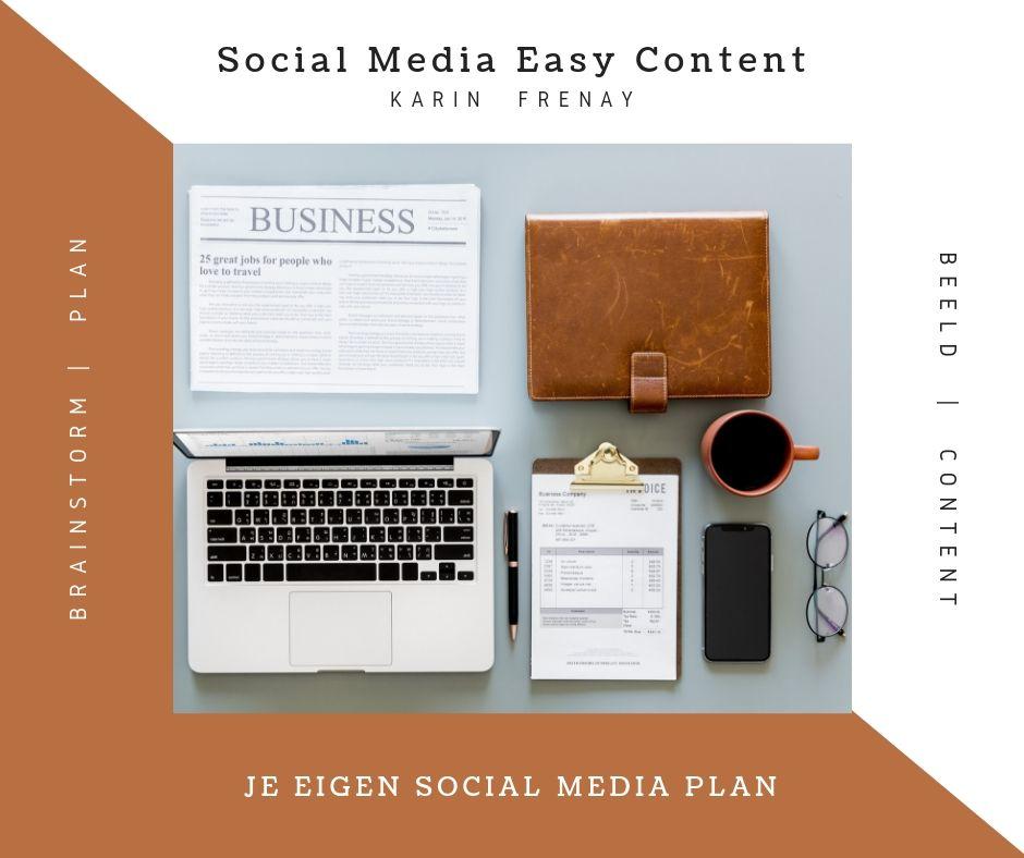 Een social media plan maken